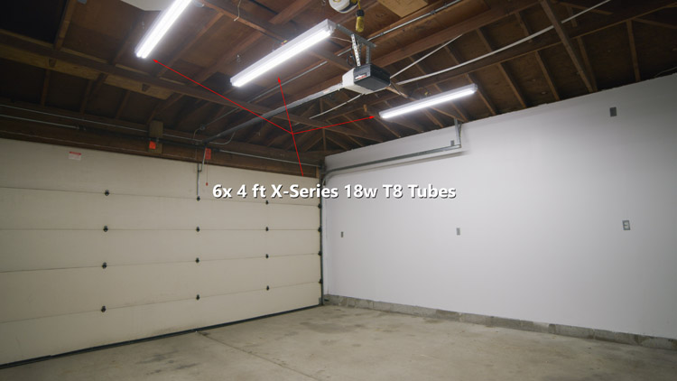 Commercial Led Case Study More, Strip Lights For Garage