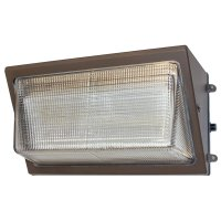 120 watt standard LED wall pack used for outside wall mounted lighting facing forward