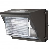 Half cut tunable LED wall mounted light with a dark bronze coating that ranges from 40 to 80 watts