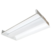 2 X 4 Tri-Line LED Troffer Light for Commercial and Office Ceilings