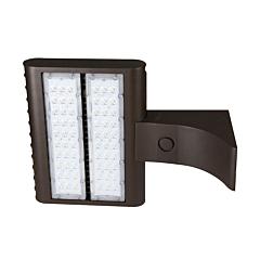 LED Flood Light - 150W, 4000K, | 277/480V | Extruded Arm Mount - Broadcast FLF Series - Clearance