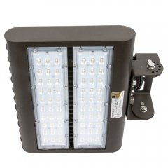 LED Flood Light - 100W, 4000K, Trunnion Mount - FLF Series - Clearance