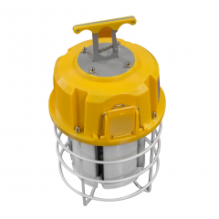 60W Temporary Construction Light | Portable LED High Bay Fixture | 150-175W HID Equivalent