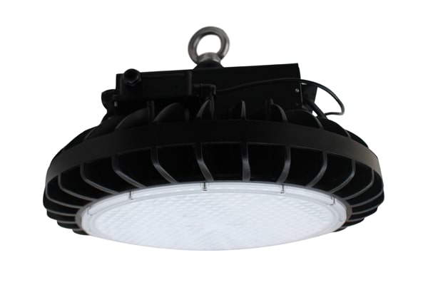 Apollo HBF LED UFO high bay fixture with a hook mount